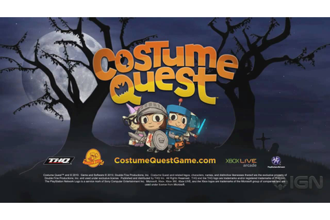 Costume Quest: Launch Trailer - YouTube