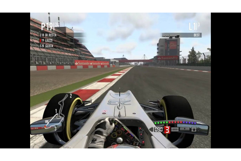F1 2011 Pc Gameplay HRT F1 Team - YouTube