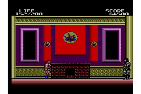 lunatic obscurity: Danan the Jungle Fighter (Master System)