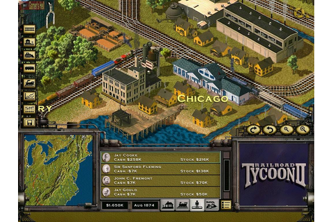 Railroad Tycoon II | Learning and gaming