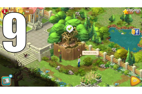 Gardenscapes - New Acres Android Gameplay #9 - Level 36 ...
