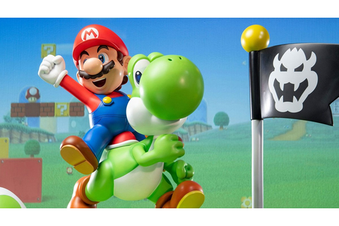 Pre-Orders For Mario And Yoshi Statue Go Live On First 4 ...