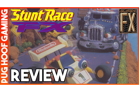 Stunt Race FX Review (SNES, 1994) - Reviewing Stunt Race ...
