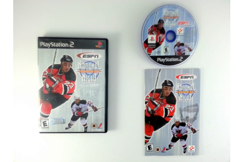 ESPN National Hockey Night game for Playstation 2 ...