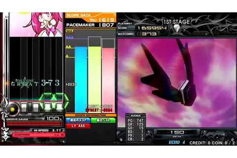 [beatmania IIDX 21 SPADA] Fly Above (SPA) - YouTube