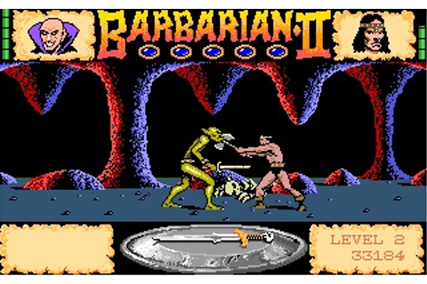 Barbarian II: The Dungeon of Drax (Amiga) Game Download