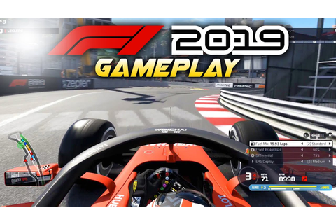 F1 2019 Exclusive Gameplay! Race at MONACO with Charles ...