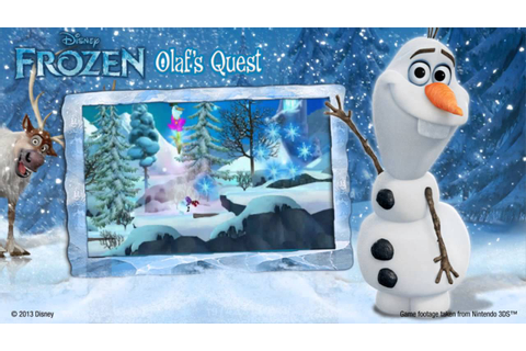 Disney Frozen; Olaf's Quest for Nintendo DS™ and Nintendo ...
