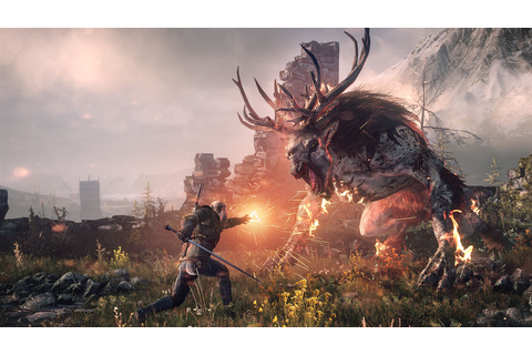 The Witcher 3: Wild Hunt Game - PS4™