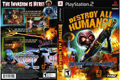 trololo blogg: Destroy All Humans 2 Wallpaper
