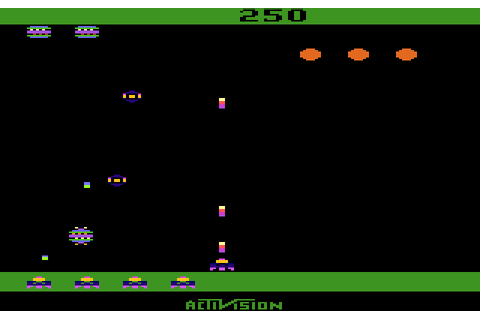 AtariAge - Atari 2600 Screenshots - Spider Fighter ...