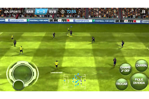 FIFA 2014 Android on Galaxy s2 gameplay - YouTube
