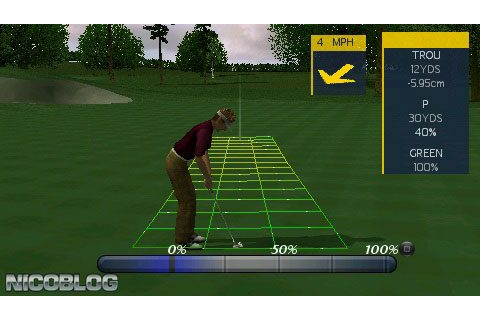 ProStroke Golf: World Tour 2007 (USA) PSP ISO - CDRomance