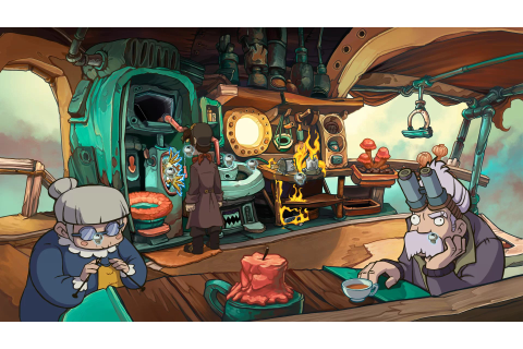 Chaos on Deponia - Rufus arrive sur consoles - Game-Guide