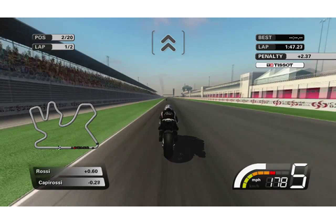 Motogp 07 Career Race 1 Qatar 2laps (xbox 360) - YouTube