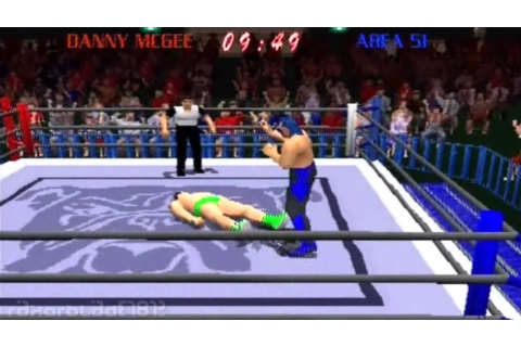 PS1 - Power Move Pro Wrestling - Tournament Longplay - YouTube
