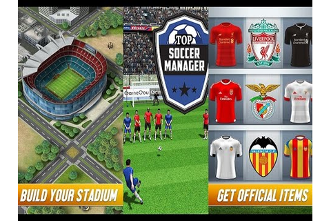 Top Football Manager | [Android / IOS] Gameplay - YouTube