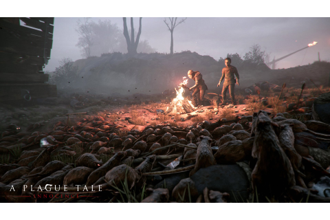 New A Plague Tale: Innocence Screenshots: Rats and Ravaged ...