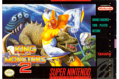King of the Monsters 2: The Next Thing for Arcade (1992 ...