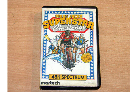 ZX Spectrum - Brian Jacks Superstar Challenge by Martech ...