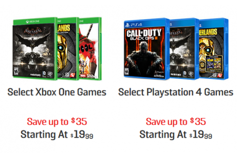 GameStop: Video Game Sale for Xbox One and PS4 {Prices ...