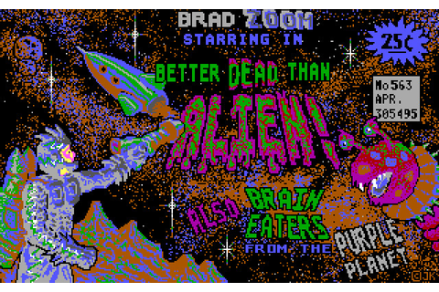 Скриншоты Better Dead Than Alien! на Old-Games.RU
