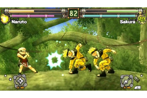 Naruto – Ultimate Ninja Heroes 2 – The Phantom Fortress ...