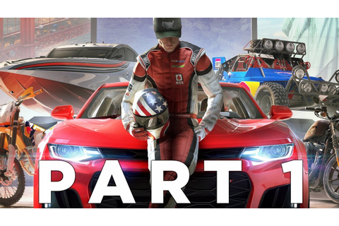 THE CREW 2 Walkthrough Gameplay Part 1 - INTRO (Xbox One X ...