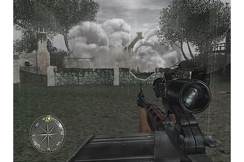 Jeu video Call Of Duty 3 : En Marche Vers Paris sur PS2 ...