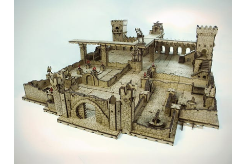Deep Dark Dungeons Terrain 2 wave