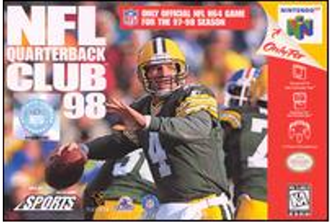 NFL Quarterback Club 98 - Wikipedia