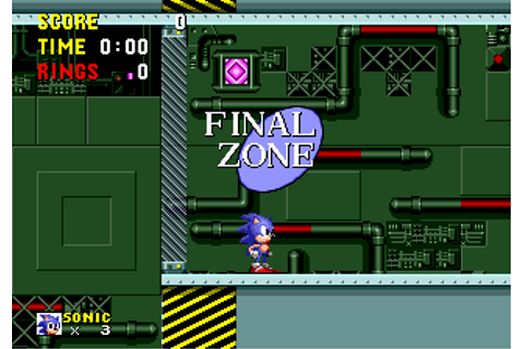 Final Zone | Sonic News Network | FANDOM powered by Wikia