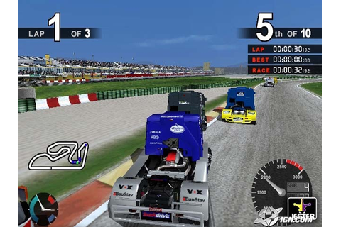Super Trucks Racing PS2 ISO Download