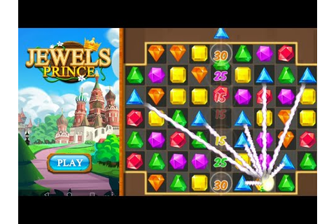 Jewels Classic Prince 2 Gameplay Video New Puzzle Game ...