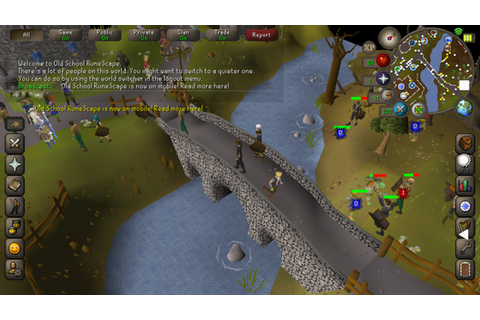 You Can Now Play 'Old School Runescape' On Your Phone