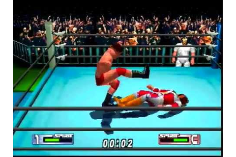 Virtual Pro Wrestling 2 - Giant Baba vs. Jushin Thunder ...