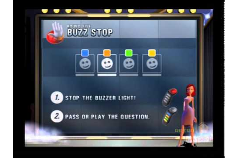 Buzz! The Big Music Quiz PS2 Multiplayer Gameplay (SCEE ...