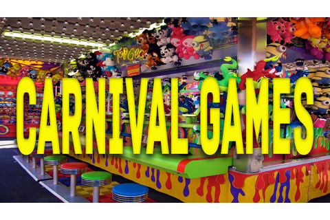 Playing Carnival Games At The Fair | Carnival Quest - YouTube