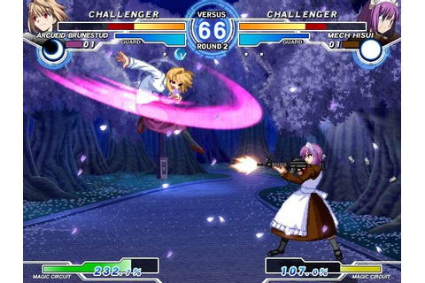 Melty Blood Actress Again Current Code arrives on Steam ...