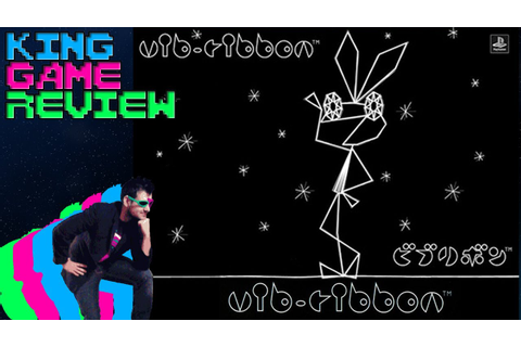 Vib-Ribbon - King Game Review - YouTube