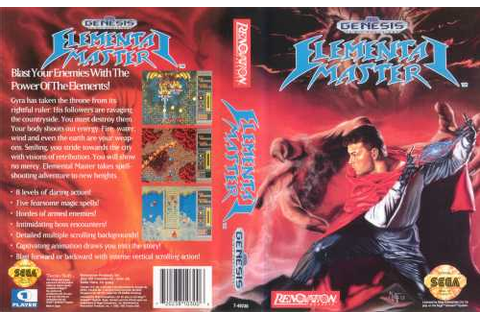 Game: Elemental Master [Sega Genesis, 1990, Technosoft ...