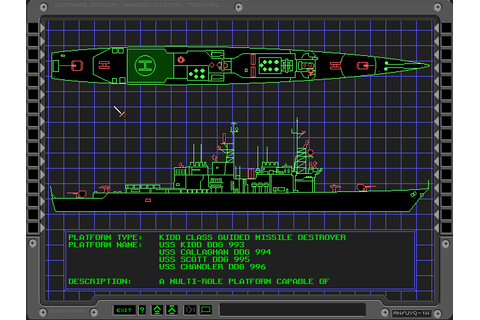 Abandonware Games / Aegis Guardian Of The Fleet