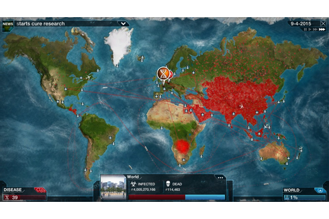 Plague Inc: Evolved (PC) - Ndemic Creations