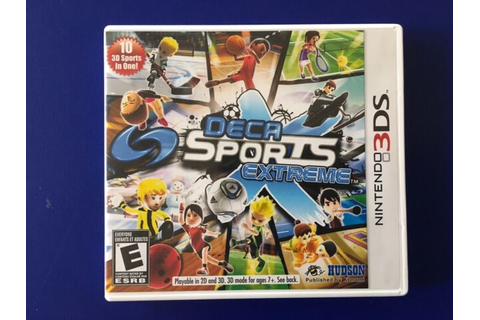 Deca Sports Extreme Nintendo 3DS Konami Game Complete with ...