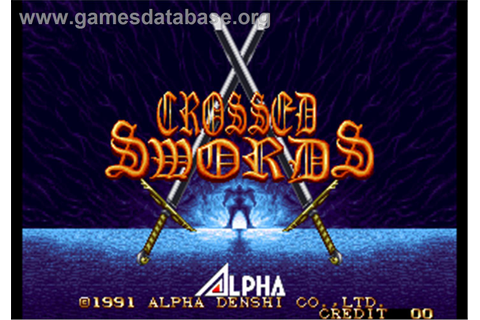 Crossed Swords - Arcade - Games Database