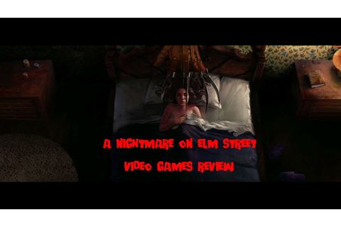 A NIGHTMARE ON ELM STREET Video Games REVIEW - YouTube