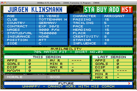 Championship Manager 93/94: Championship Manager 94 End of ...