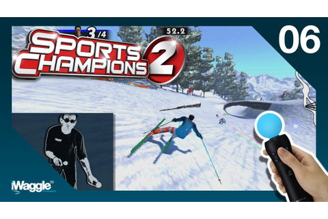 Sports Champions 2 PS Move Walkthrough - Part 6/6 [Skiing ...