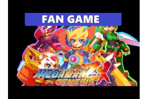 MEGAMAN ZX GENESIS - [Fan Game] - YouTube