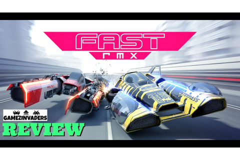FAST RMX! Nintendo Switch Game Review!! Like F-ZERO and ...